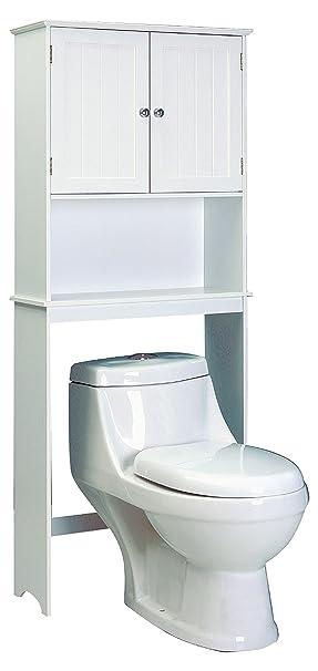 Jocca Mueble para Baño, Madera, Blanco, 193.5x65x22.5 cm: Amazon.es: Hogar