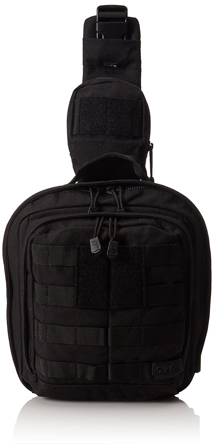 5.11 Tactical Series Rush 6 Mobile Operation Attachment Bag, Black, One Size 56963-019