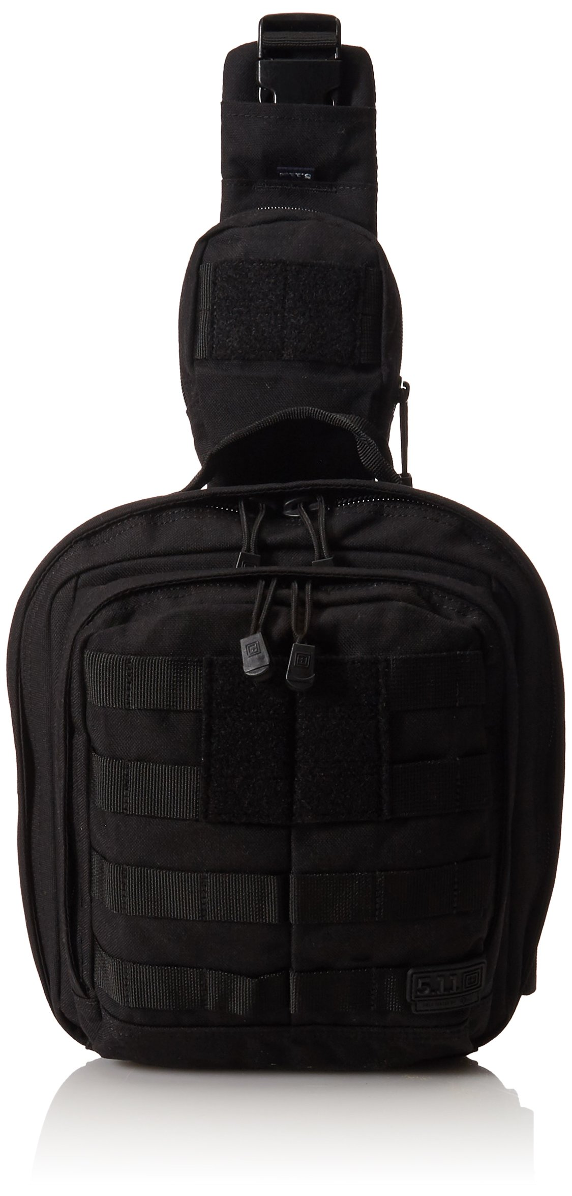 5.11 RUSH MOAB 6 Tactical Sling Pack Military Molle Backpack Bag, Style 56963, Black by 5.11