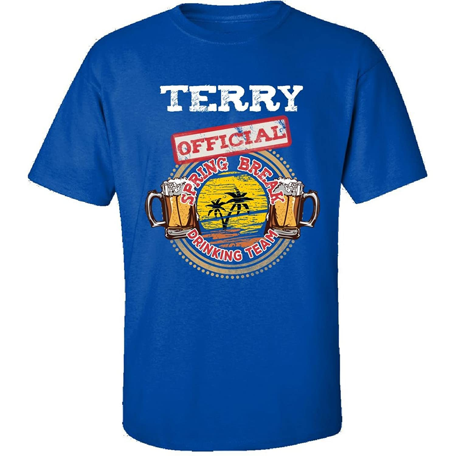 Terry Official Spring Break 2017 Drinking Team - Adult Shirt