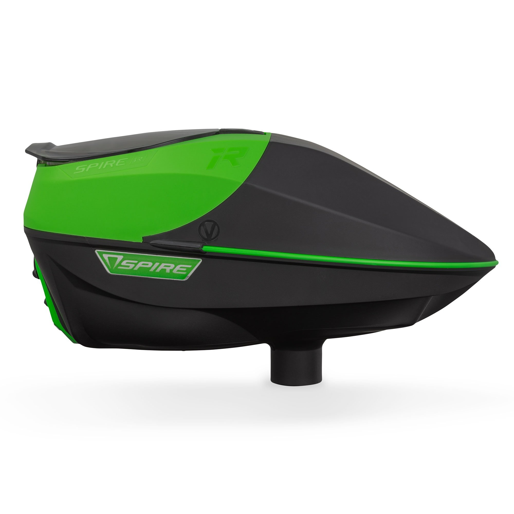 Virtue Spire Electronic Paintball Loaders/Hoppers (IR Lime/Black) by Virtue Paintball