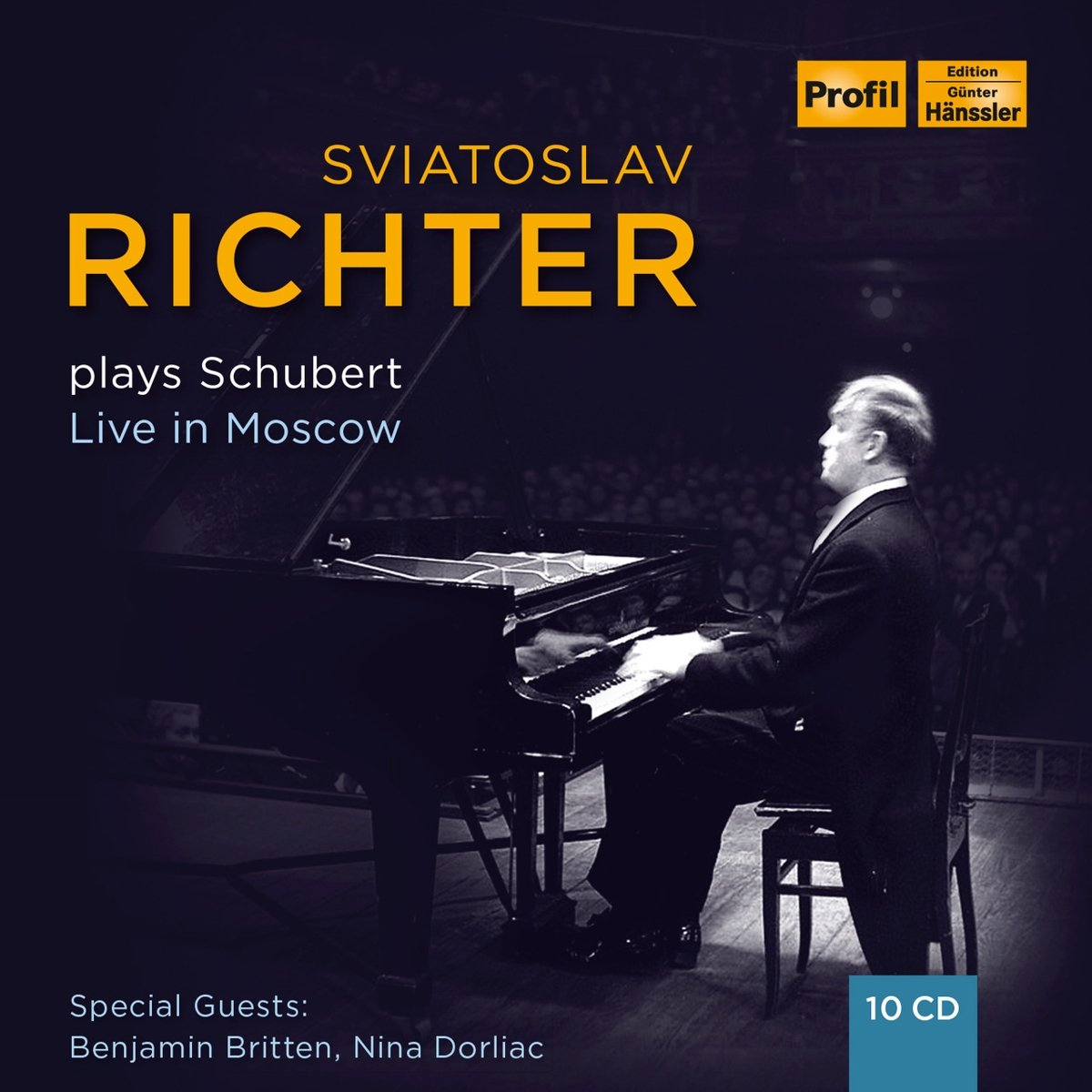 Svjatoslav Richter Plays Schubert - Live in Moscow (Box Set) by Profil