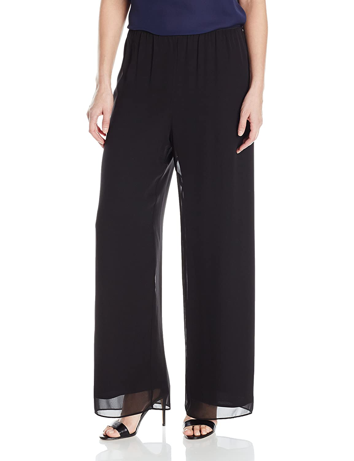 Alex Evenings Women's Chiffon Dress Pant