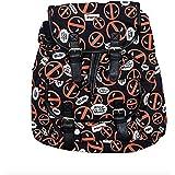 Marvel Deadpool All Over Logo Knapsack Backpack