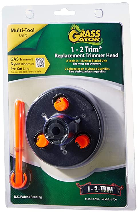 Amazon.com : Grass Gator 6700 1-2 Trim Replacement Head ...