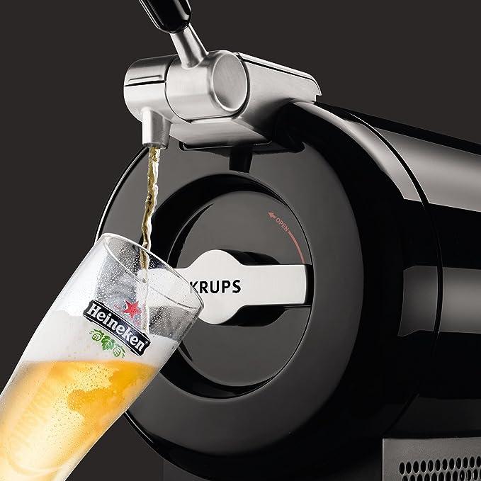 Krups The Sub Vainilla VB650810 -Tirador de cerveza, tecnología ...