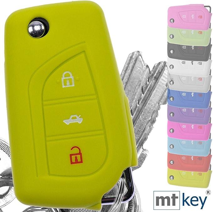 Soft Case Silikon Schutz Hülle Grün Für 3 Tasten Auto Elektronik