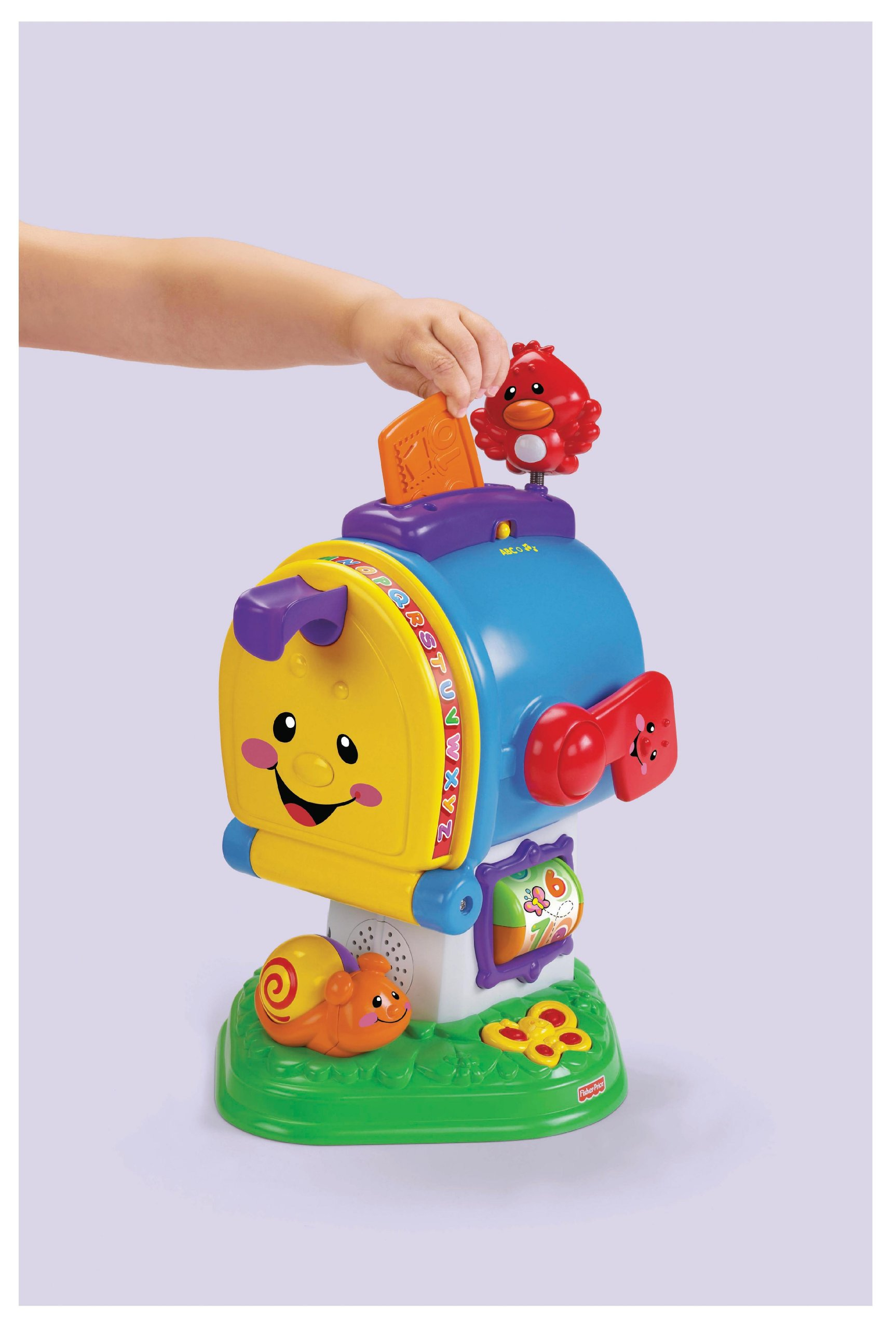 Fisher-Price Laugh & Learning Letters Mailbox by Fisher-Price (Image #6)