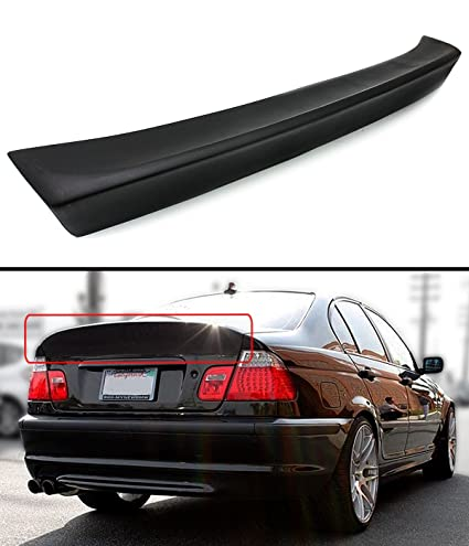 0ff9d230095 Amazon.com  Cuztom Tuning CSL STYLE REAR TRUNK DUCKBILL HIGHKICK SPOILER  WING FOR 1999-2005 BMW E46 3 SERIES 4DR SEDAN  Automotive