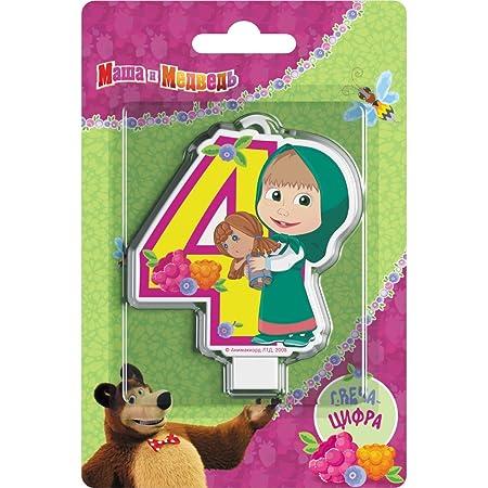 Y # x421; andle en decoración para Tarta para un 4 años ...