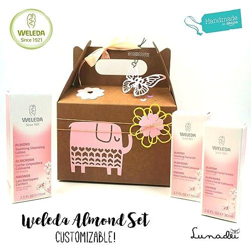 """""""Set Almendra"""" con Productos WELEDA BIO 100% naturales   Ideal para madres"""