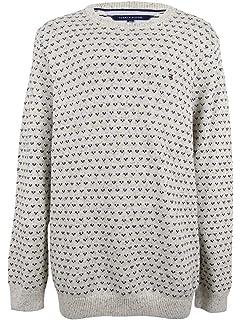 b6817b39 Tommy Hilfiger Men's Carrington V-Neck Striped Pullover Sweater (XXX ...