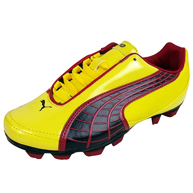 ed4a38aa0b1a Puma Boys FG Firm Ground Football Boots Junior Sizes Soccer Boot Kids Size  10-6: Amazon.co.uk: Shoes & Bags