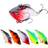 SeaKnight VIB Fishing Lures Sinking VIB Hard Baits With High-Strength Hook Artificial Hard Bait Wobblers Fishing Sinking Lures Bait