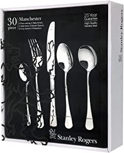 Stanley Rogers Manchester Cutlery Set 30pc