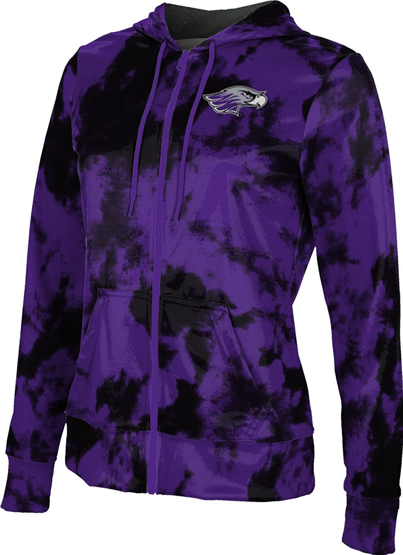 School Spirit Sweatshirt Grunge ProSphere University of Wisconsin-Whitewater College Girls Zipper Hoodie