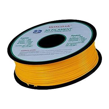 HongDak Pla 3d impresión, 3d impresora filamento, Dimensional ...