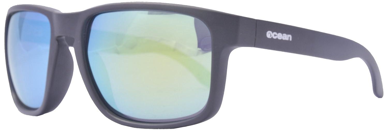 Ocean Sunglasses Blue Moon - lunettes de soleil polarisées - Monture : Marron Mat - Verres : Revo Jaune (19202.20) cRF9y