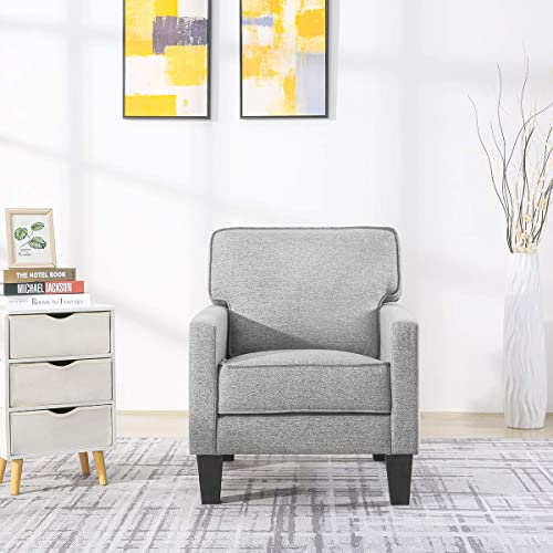 Vonanda Fashion Arm Chair Fabric Chair Single Sofa Modern Comfy Living Room Chair