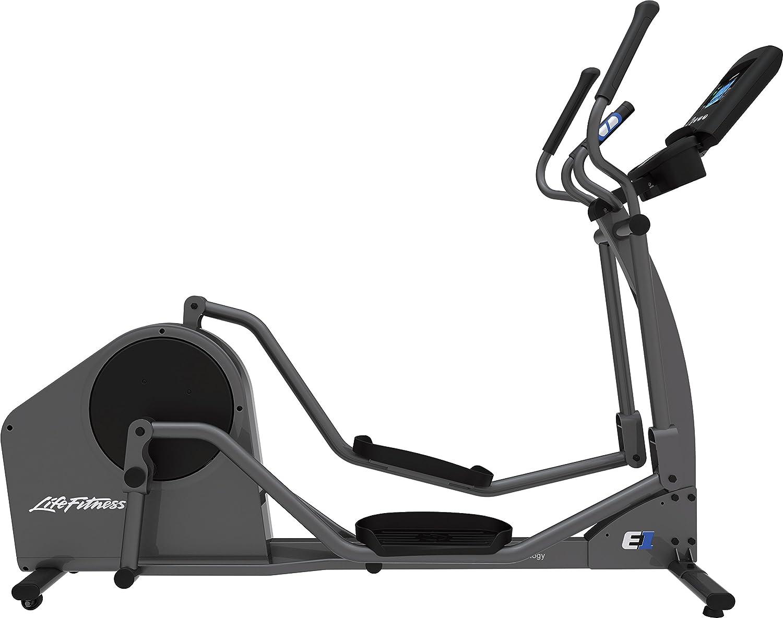 ca4e112e2 Amazon.com : Life Fitness E1 Go Cross-Trainer, Titanium : Sports & Outdoors