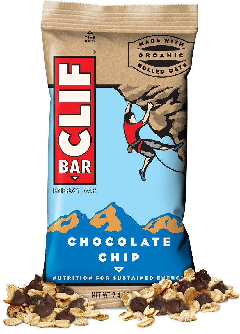 CLIF ENERGY BAR 24 Count, oIExIuP Chocolate Chip