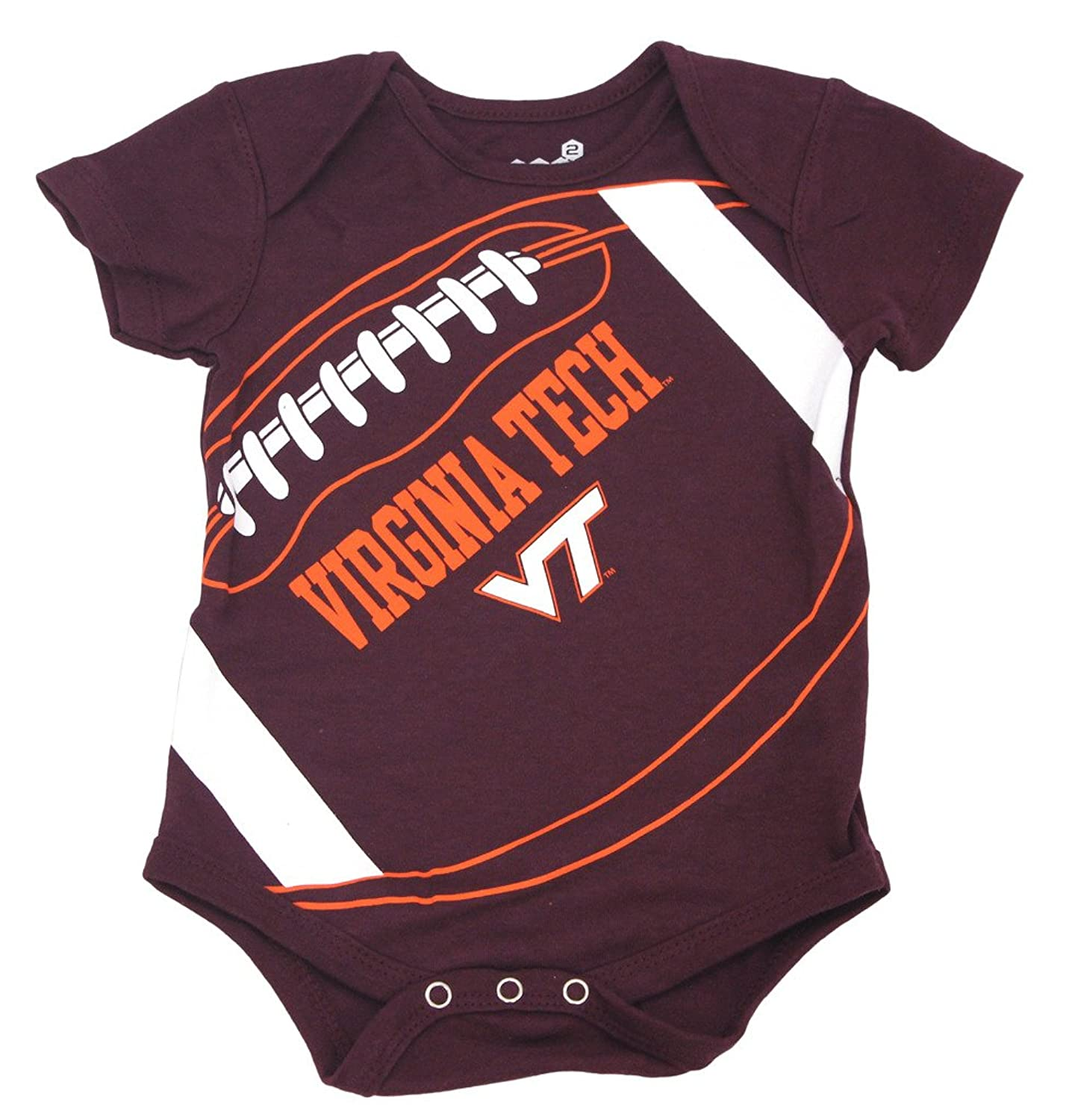 Amazon GEN2 Baby Toddler Virginia Tech Hokies Football Creeper