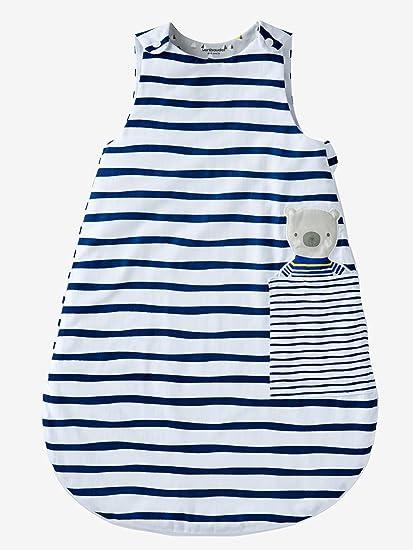 VERTBAUDET Saquito especial verano Mimos marineros Blanco / Azul Marino 107