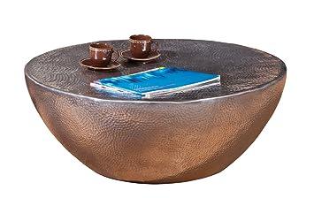Links 87300500 Couchtisch Lounge Tisch Design Beistelltisch Wohnzimmer Alu Rund 70 Cm NEU
