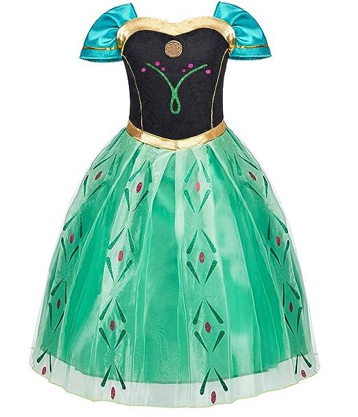 Amazon.com: Funna - Disfraz de princesa para niña: Clothing