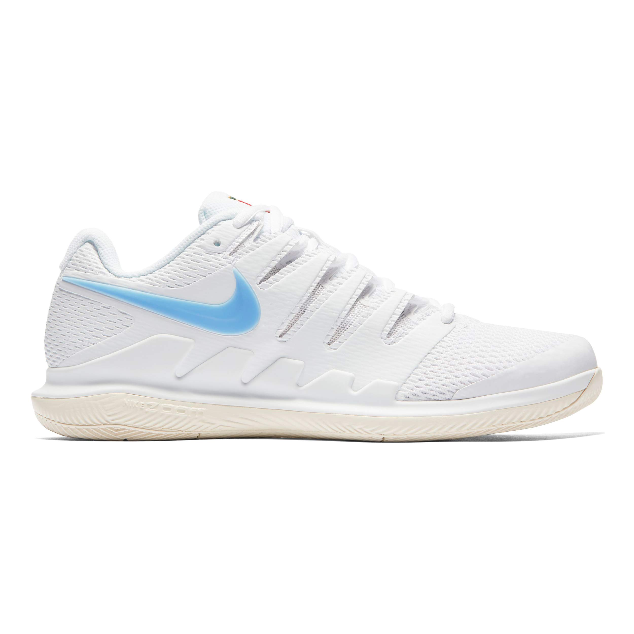 1d3f24bd1b03d Galleon - Nike Men's Zoom Vapor X Tennis Shoes (12.5 D US, White ...
