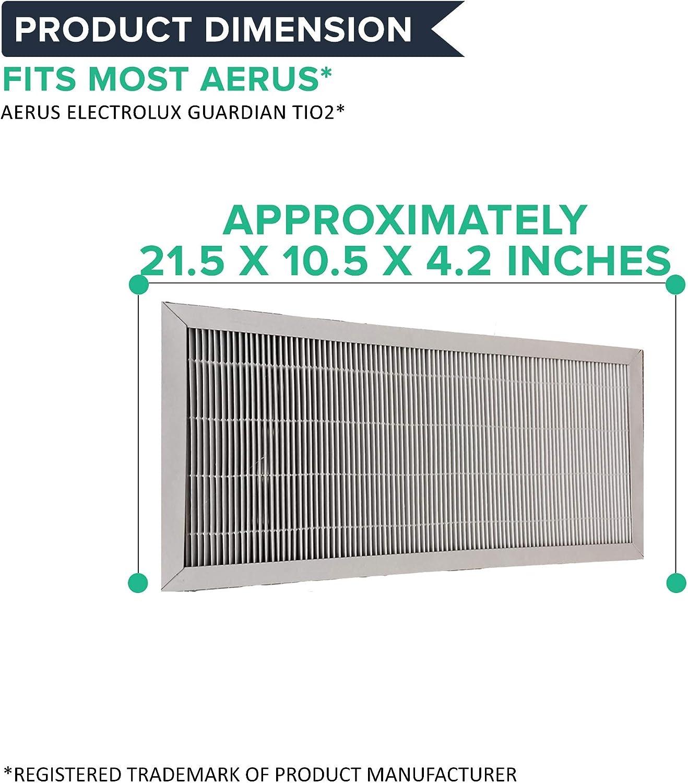 Think Crucial - Filtro purificador de aire para Aerus Electrolux Guardian TiO2 (renovado): Amazon.es: Hogar