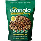 The Granola Bakery Keto Granola | Low Carb Keto Cereal | 1g Net Carb | Low Sugar Keto Snack | Small Batch, Hand Crafted | Cin