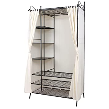 armoire vtement good grande armoire penderie chambre enfant modulable with armoire vtement. Black Bedroom Furniture Sets. Home Design Ideas