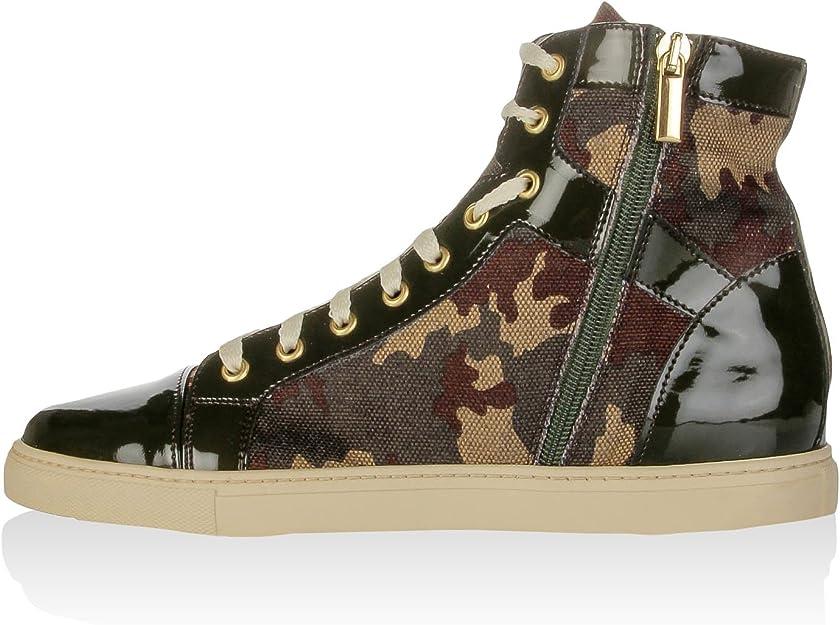 morbosità ascesa silenziosamente  Fiorella Rubino Sneaker Alta Multicolore EU 38: Amazon.it: Scarpe e borse