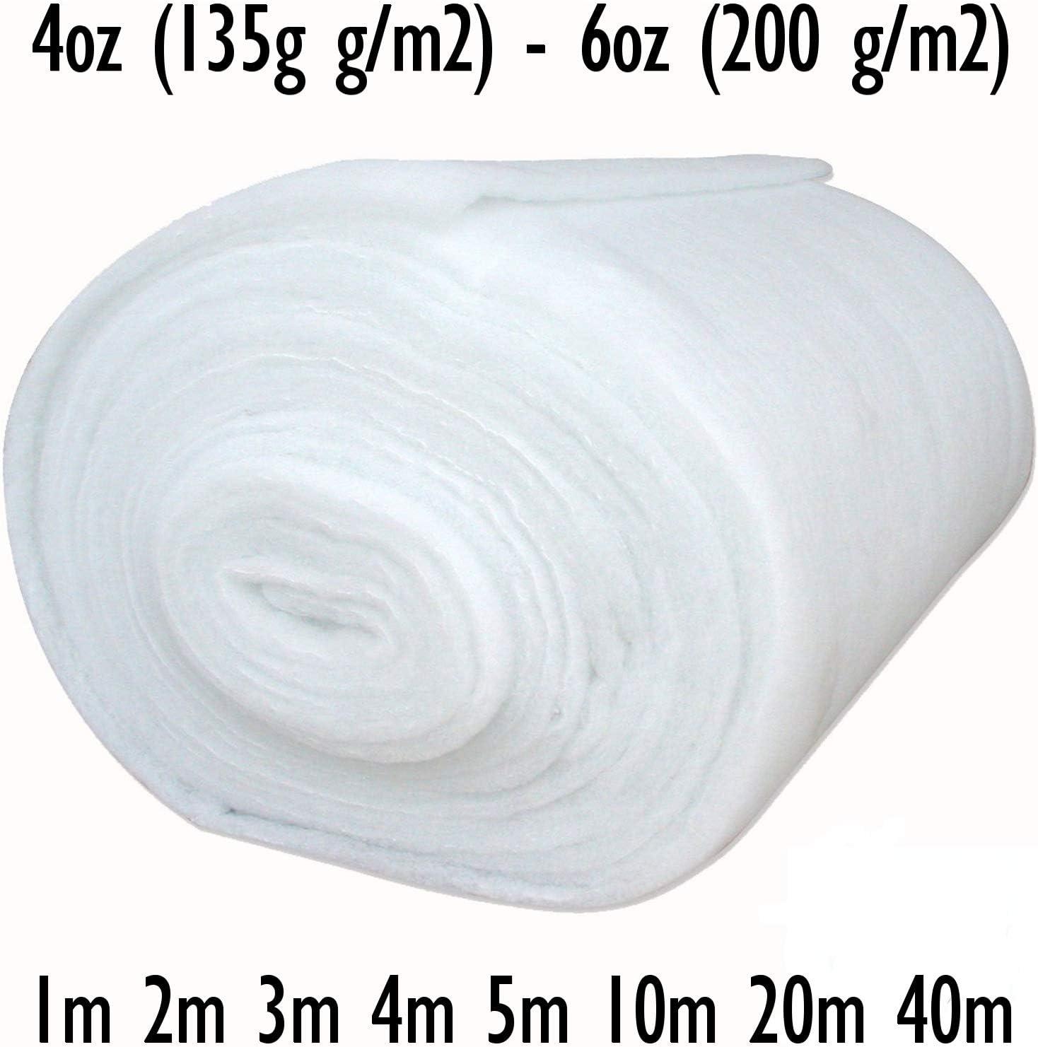 27 inch 4oz Polyester Quilting Wadding Upholstery Dacron.Batting Flame Retardant