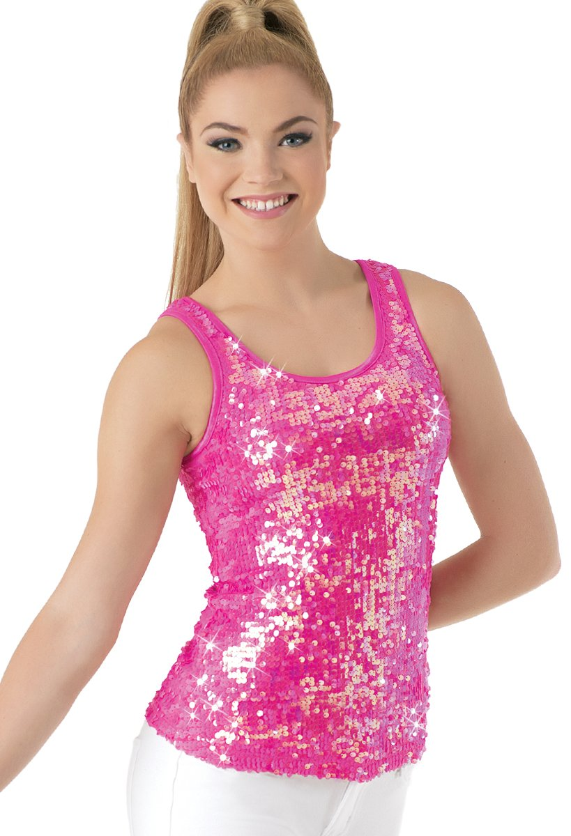 Balera Dance Tank Top Iridescent Ultra Sparkle by Balera