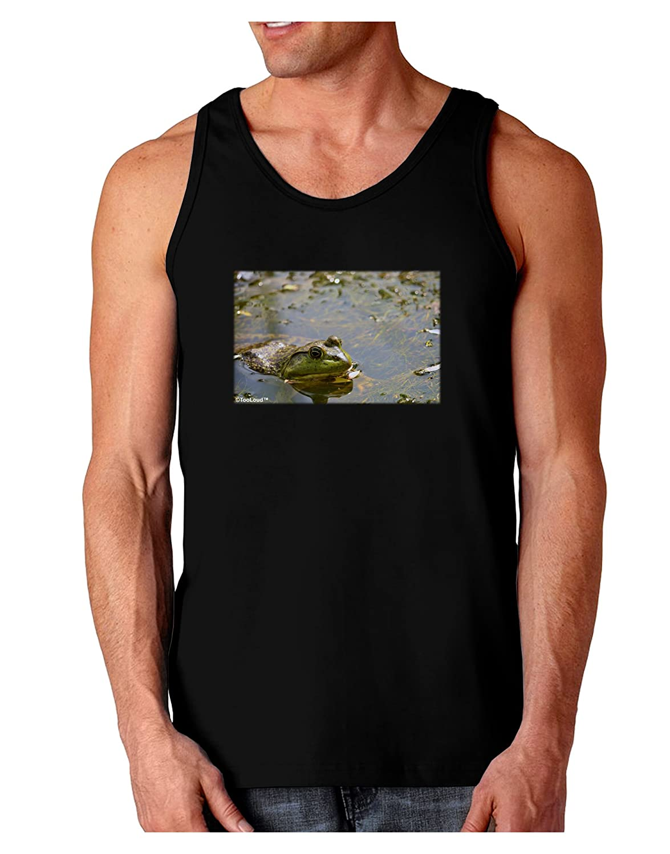 TooLoud Bullfrog in Water Dark Loose Tank Top