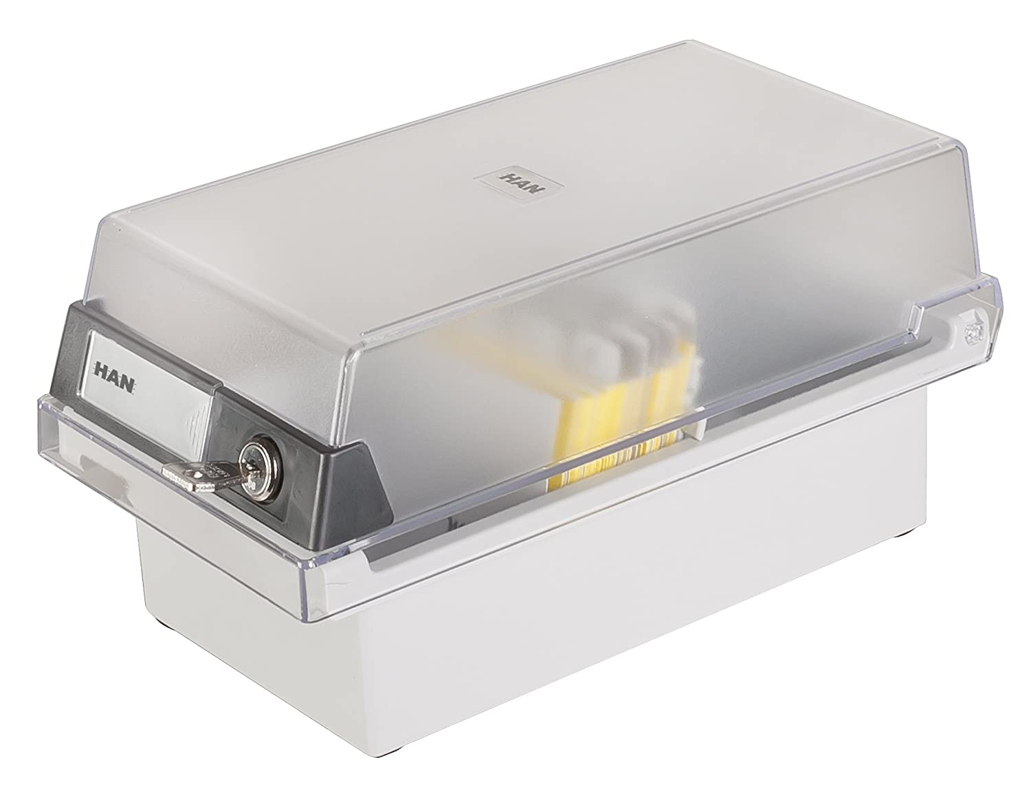 HAN Card index box A6 966-S-631 HAN966SGR