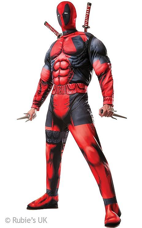 Rubies - Disfraz de Deadpool para hombre, con kit de armas: Amazon.es: Juguetes y juegos