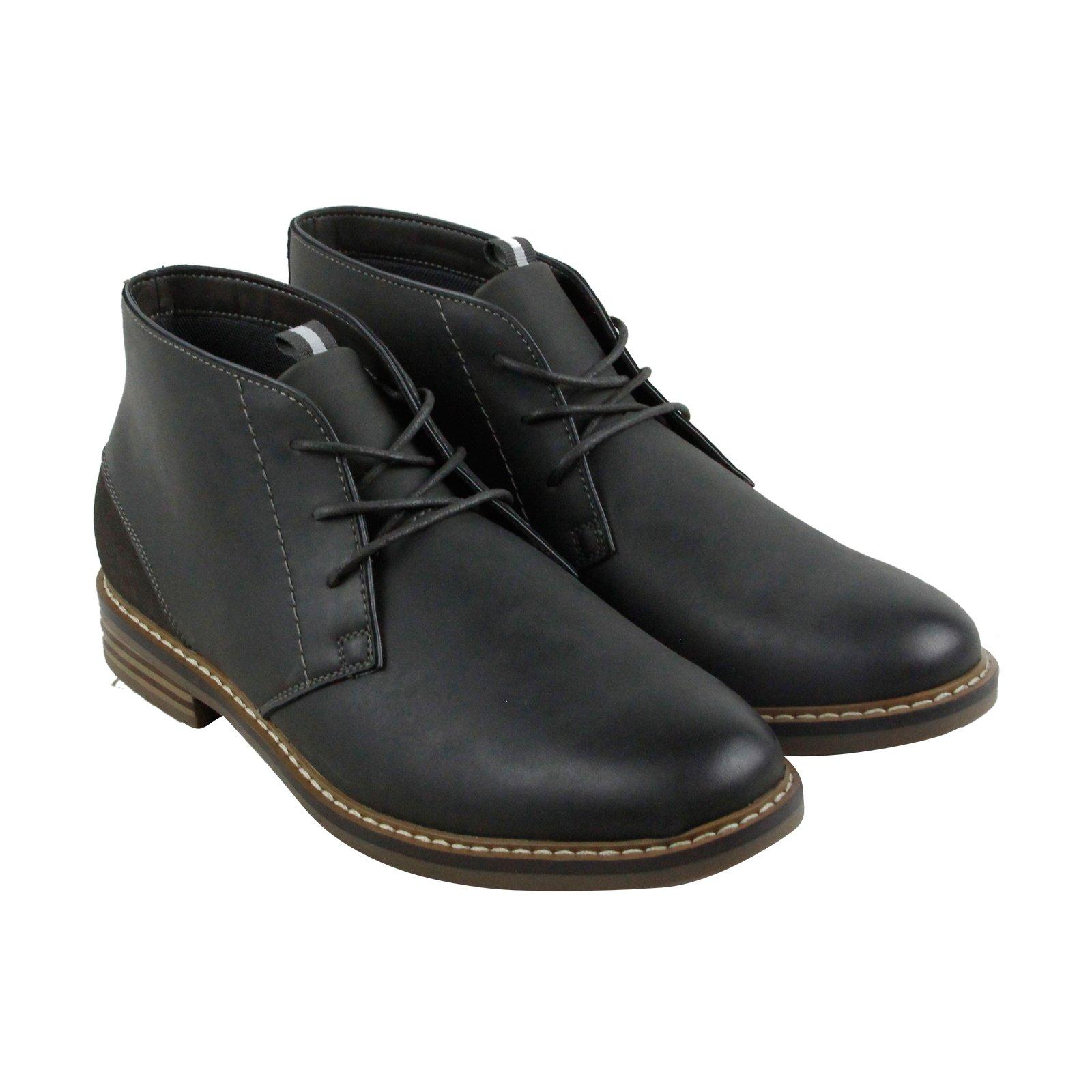 Madden Men's M-Edict Chukka Boot, Grey Nubuck, 10.5 M US