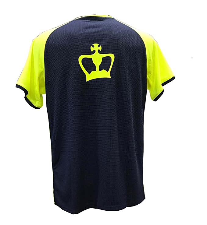 Camiseta Padel Black Crown X5 Marino/Amarillo - XXL: Amazon.es ...