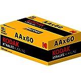 Kodak XTRALIFE AA 60 Pack Alkaline Batteries, (30410961)
