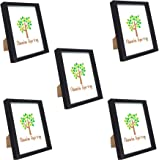 2 Pack Old Town 8x10 Solid Wood Picture Frame Frames 25113 Walnut
