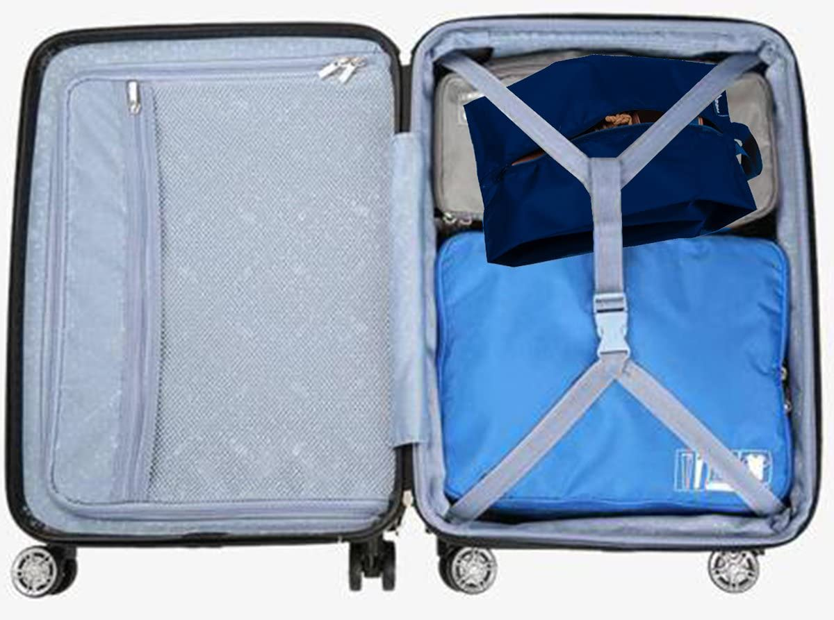 MISSLO Portable /étanche Nylon Travel Shoe bourses avec Fermeture /à charni/ère Multicolore