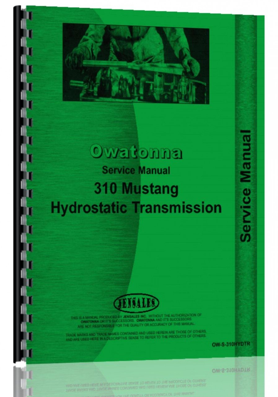 Owatonna 310 Skid Steer Loader Service Manual: Owatonna: 6301147751089:  Amazon.com: Books