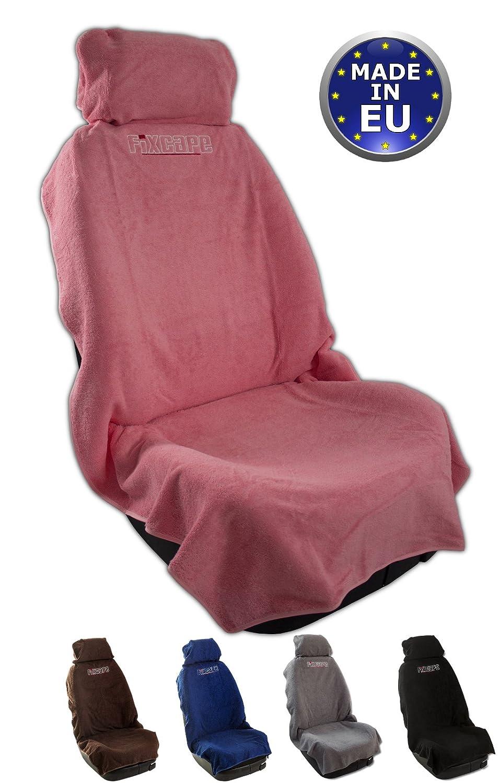 Protezione per Sedile Auto Comodo coprisedile Singolo Universale Anteriore Lavabile Fodere Sedile Auto fixcape Cotone