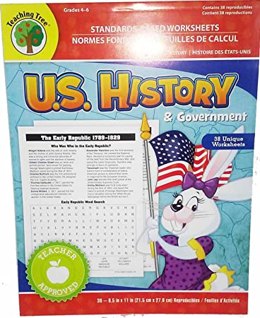 Counting Number worksheets free us history worksheets : Amazon.com : Standards-based Worksheets Grades 4-6 (U.S. History ...