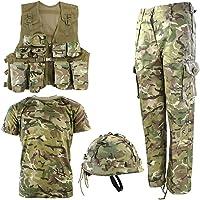 Kombat UK BTP No1 Conjunto Combinado del ejército, Bebé-Niños