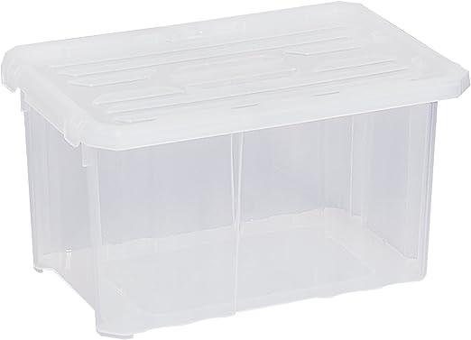 Plastikbehälter 40x30x32*Kunststoffbehälter*Plastikkiste*Transportkiste*grau*30l
