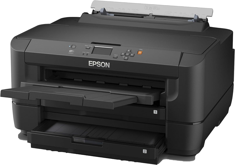 Amazon.com: Epson WF-7110DTW A3 Impresora Negro: Electronics